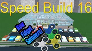 [Roblox: Retail Tycoon] Speed Build 16 - NEW FIDGET SPINNERS!?!