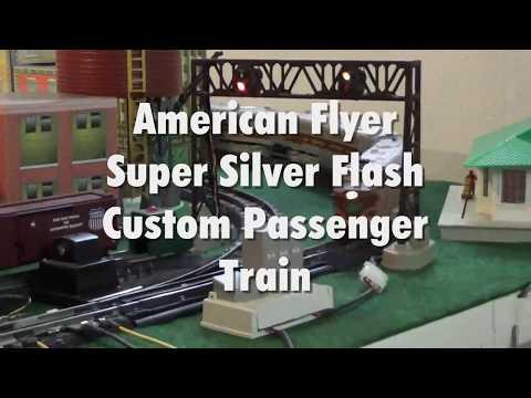 American Flyer - Super Silver Flash Custom Passenger Train