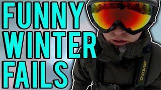Winter Fails Compilation (January 2018)    FailUnited