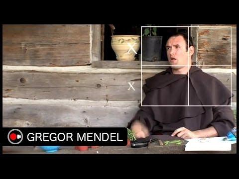 Gregor Mendel Sketch - Untamed Science