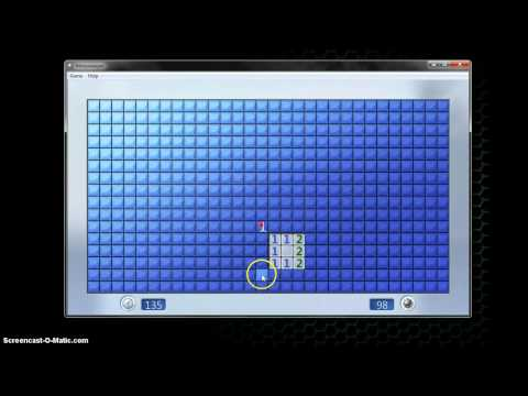 Advanced Minesweeper Strategy - The Perfect Square