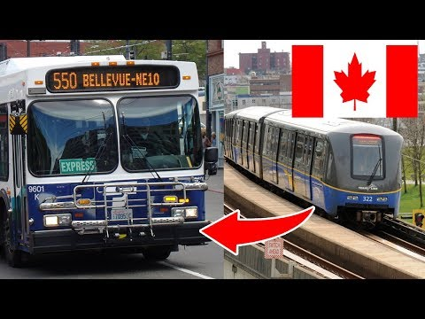 How students travel in CANADA - Transit Vancouver..