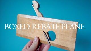 007 Boxed rebate / rabbet hand plane