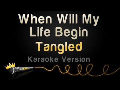 Tangled - When Will My Life Begin (Karaoke Version)