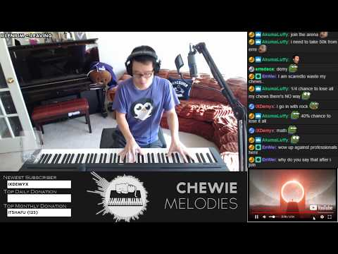 Illenium - Leaving Piano First Listen Playover Cover