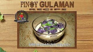 Ube Macapuno Salad Pinoy Gulaman Recipe