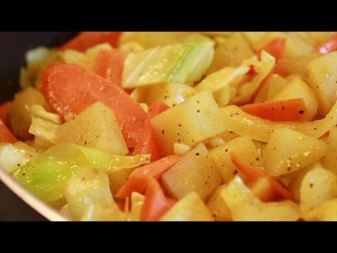 Easy ethiopian cabbage dish recipe youtube easy ethiopian cabbage dish recipe vegan food recipes forumfinder Choice Image