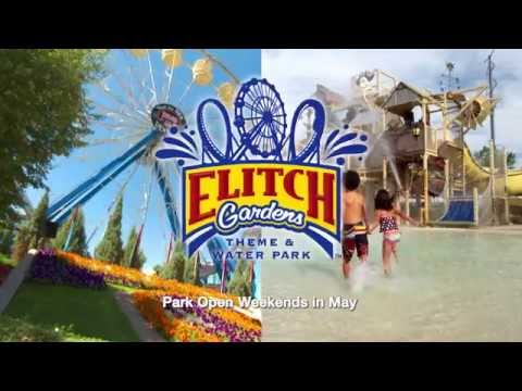 133 Days Of Fun At Elitch Gardens Theme Water Park Youtube