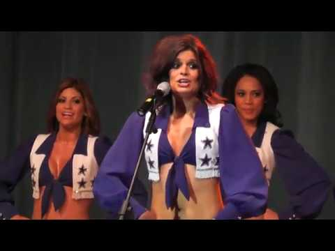 Dallas Cowboys Cheerleaders - USO - America and Her Music