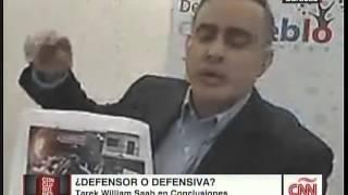 CNN Conclusiones Fernando del Rincon vs Tarek William Saab, nos enseño hoy lo que es el PERIODISMO