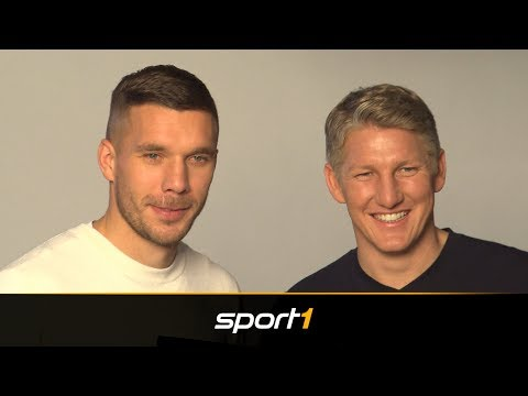 Wieder Weltmeister? Schweinsteiger und Podolski glauben an DFB-Team | SPORT1