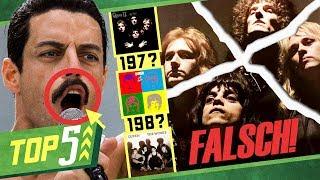 5 nervige Fehler in Bohemian Rhapsody, die Fans nerven