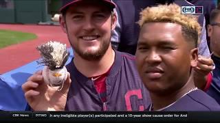 'Mini Jose' Indians create awesome Jose Ramirez replica baseball
