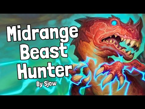 Midrange Beast Hunter by Sjow Deck Spotlight - Hearthstone