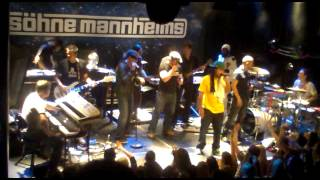 """Söhne Mannheims """" Can you feel it """" 12.3.2011 Amsterdam :)"""