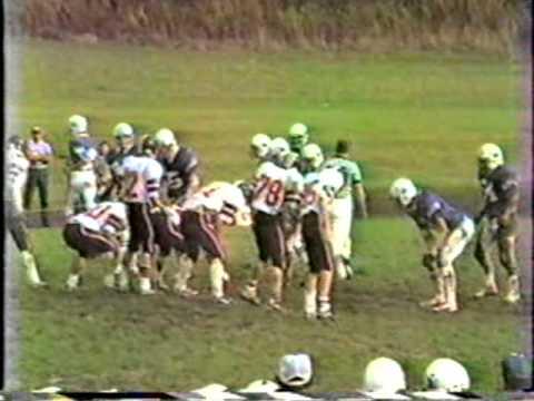 Seneca High School Bobcats Football 1985-86 Wattsburg, PA