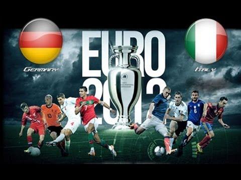 Germany V Italy Euro 2012 Semi Final 28/06/2012 (Predictor Highlights)