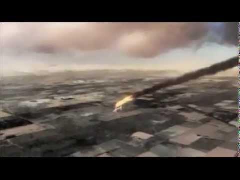 Kazakhstan 1907 - Saudi Arabian 763 Crash Animation