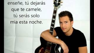 Pablo Alborán - Yo quiero bailar