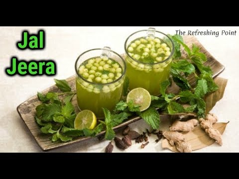 Jal Jeera Water The Summer Beverage For Better Digestion