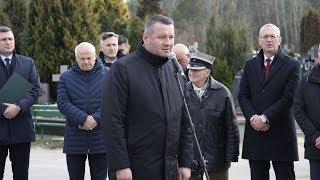 Miejskie obchody 79 rocznicy zbrodni katyńskiej - prezydent Łukasz Kulik