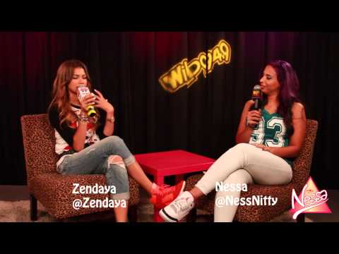 Zendaya talks dancing with Chris Brown, Drake following her on Twitter and her movie Zapped!