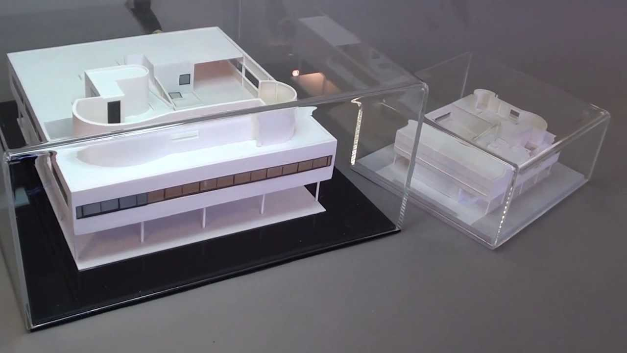 Le Corbusier VILLA SAVOYE Architecture Model Scale 1100 And 1200