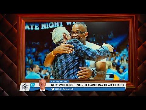 UNC Head Basketball Coach Roy Williams Talks Stuart Scott on The Rich Eisen Show - 1/4/15