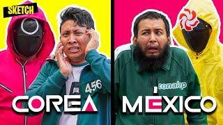 Si EL JUEGO DEL CALAMAR fuera mexicano  | SKETCH ft. El Chino Fernández