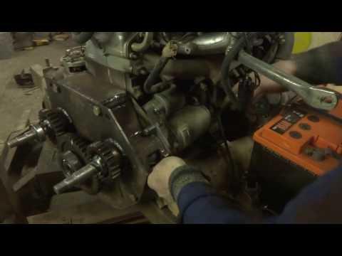 согласующий редуктор двигателя мини экскаватора