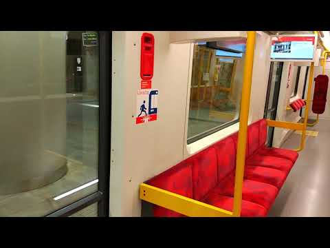 Warsaw metro new trains