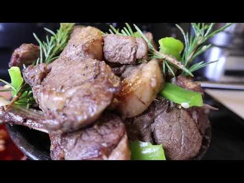 Ethiopian Food ልዩ ጎድን ጥብስ