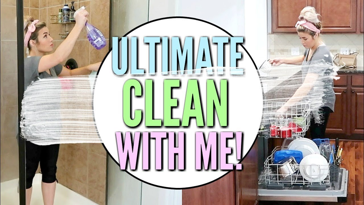 ULTIMATE CLEAN WITH ME | EXTREME CLEANING MOTIVATION 2019 | Love Meg