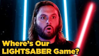 Where's Our Lightsaber Game?