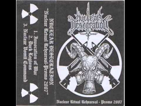 nuclear desecration desecrated temple of impurity