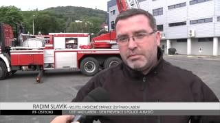 ÚSTÍ NAD LABEM: Den prevence s policií a hasiči