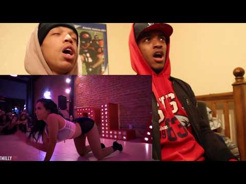 Janet Jackson - Would You Mind - Choreography by Aliya Janell - #TMillyTV reaction by @Lil.AjDre