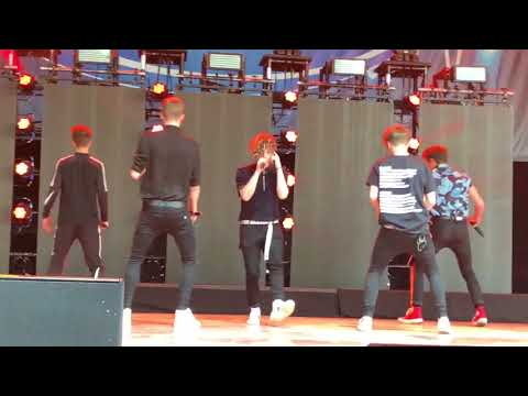 """Why Don't We """"Something Different"""" kfest 6/16/18 (front row)"""