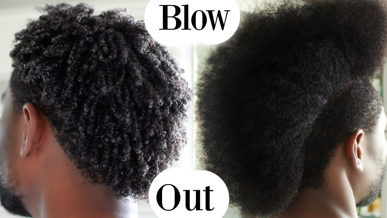 How To Blow Out Blowdry Curly Hair Men Hair Care