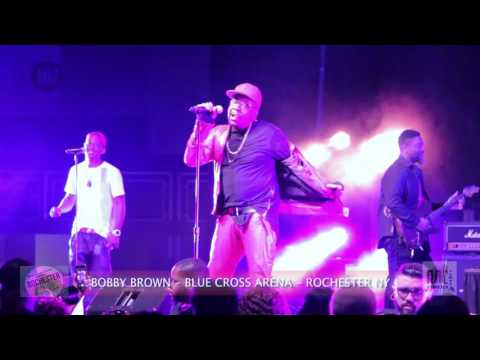 "Bobby Brown ""Full Performance"" At ""Blue Cross Arena"" Rochester NY Music Fest"