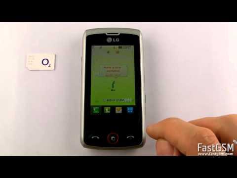 Unlock LG GW520 & GW525