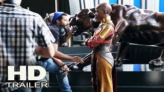 BLACK PANTHER - Fighting On the Set 2018 Behind The Scenes (Chadwick Boseman) Movie