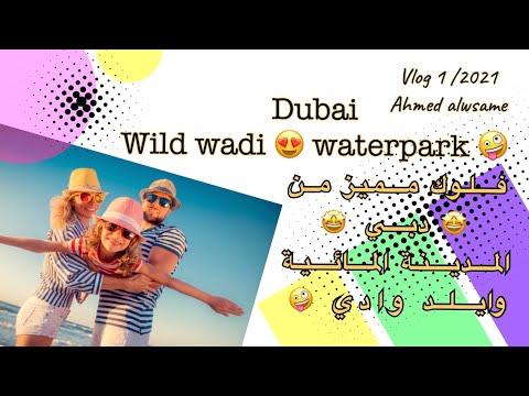 فلوك من دبي ( مدينة الألعاب المائية وايلد وادي ) UAE 🇦🇪 Dubai ( Wild Wadi Waterpark )