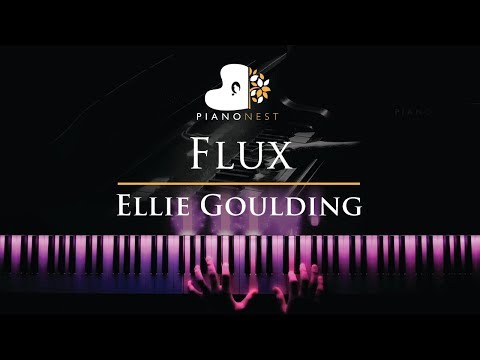 Ellie Goulding - Flux - Piano Karaoke / Sing Along Cover With Lyrics
