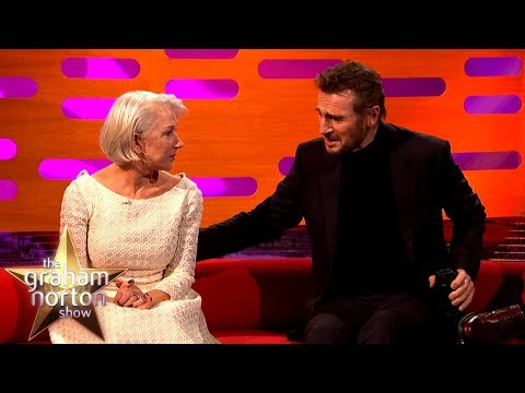 Helen Mirren Reunited with ExBoyfriend Liam Neeson  The Graham Norton