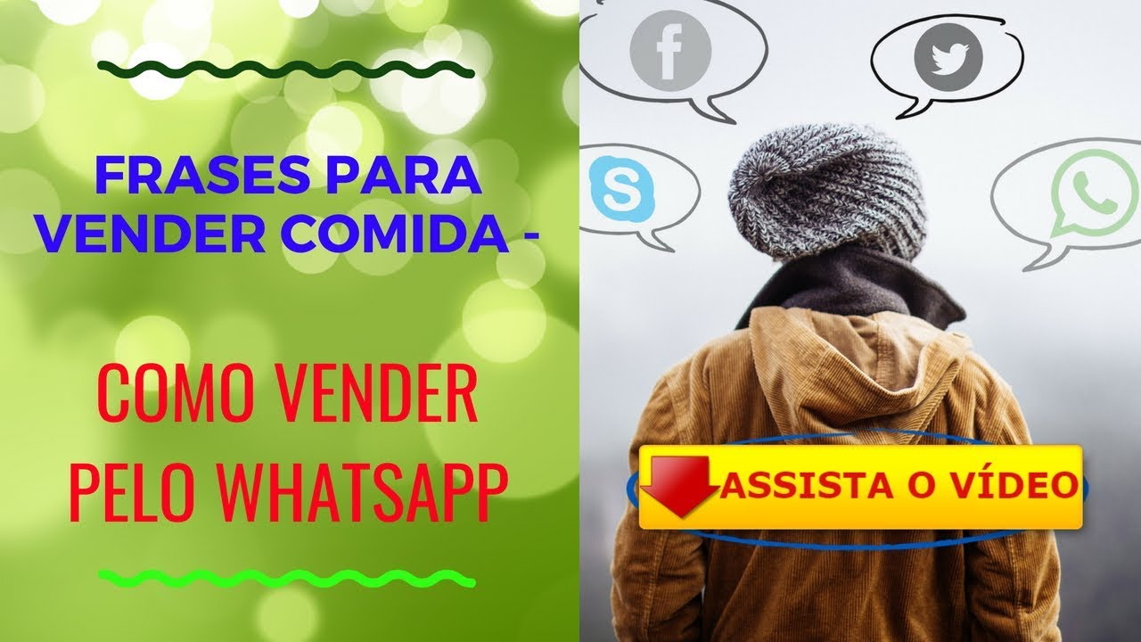 Frases Para Vender Comida Como Vender Pelo Whatsapp Youtube