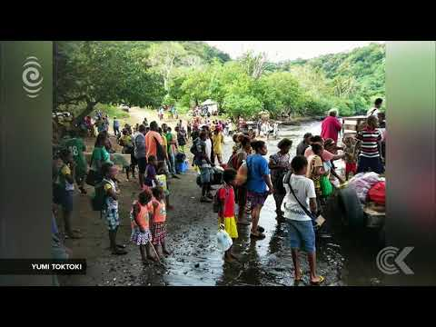 Vanuatu volcano islands evacuation effort in full swing: RNZ Checkpoint