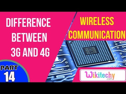 What is the difference between 3G and 4G | Wireless Communication Interview Questions And Answers