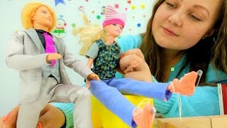 Поделки и игрушки для детей: Кен дарит Барби коньки