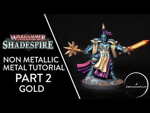 How To Paint NMM Gold - Warhammer Nightvault Stormcasts